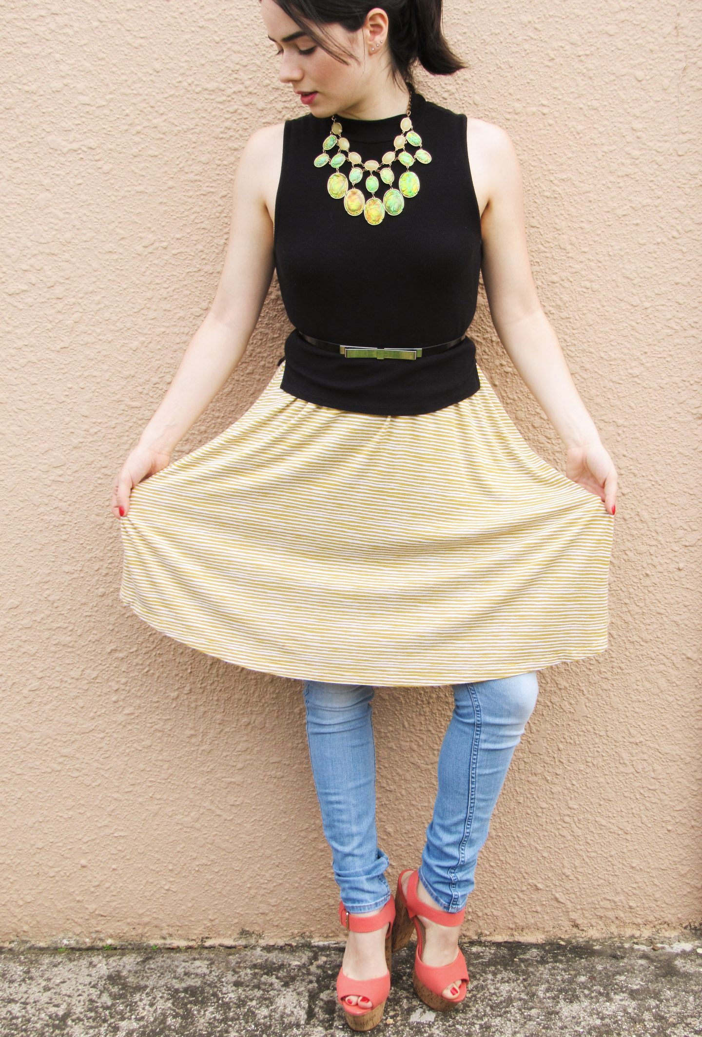 Matching Jeans With Skirts: A Combination Made In Heaven
